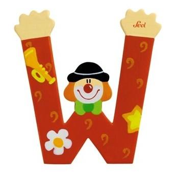 """Litera """"W"""" z klaunem, Petit Jour"""