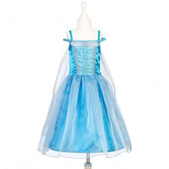 Sukienka balowa niebieska dla dziewczynki Lillina 5-7 lat, Souza!