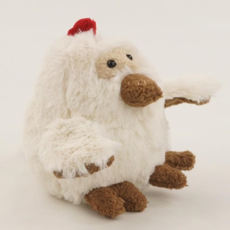 Kurczątko Chickos białe przytulanka, Les Petites Marie