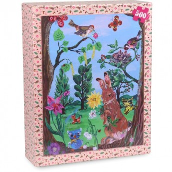 Las puzzle 500 elementów by Nathalie Lété, Vilac