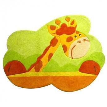 Dywan dla niemowlaka Sawanna z Żyrafą bawełniany 100cm