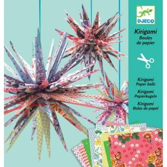 Kirigami gwiazdy papierowe, Djeco