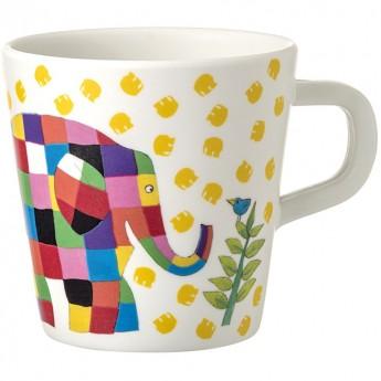 Kubek mug dla dzieci Sloń Elmer, Petit Jour