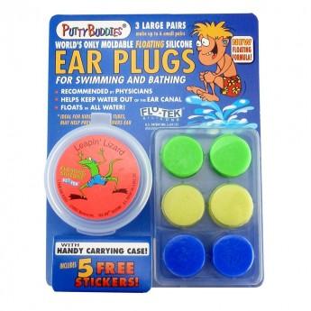 Zatyczki do uszu do pływania 6szt Putty Buddies, Ear Band-It