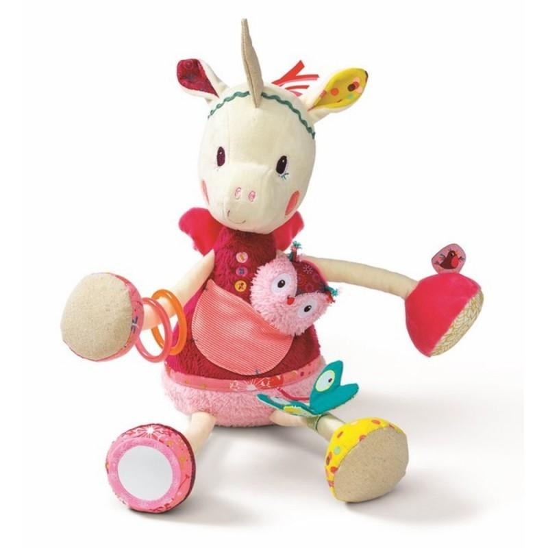 Jednorożec Louise zabawka dla niemowląt, Lilliputiens