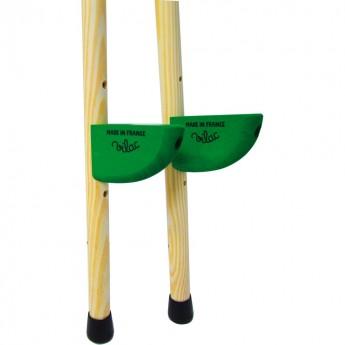 Szczudła drewniane zielone, Vilac