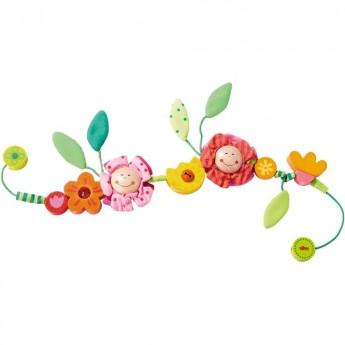 Kwiaty Łańcuszek do wózka dla niemowląt, Haba