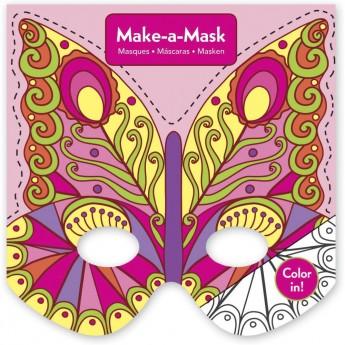 Maski do zrobienia Motyle, Mudpuppy