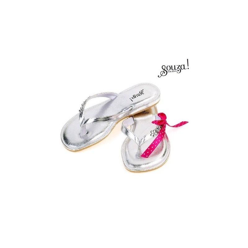Flip-flop Raina srebrne, Souza For Kids