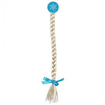 Spinka do włosów Warkocz Lina z niebieską wstążką, Souza For Kids