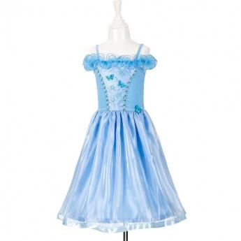 Sukienka balowa niebieska dla dziewczynki Sylvianne 3-4 lata, Souza!