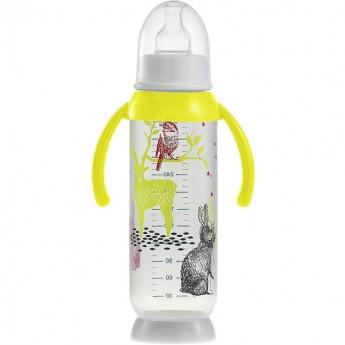 Butelka antykolkowa z uchwytem 330ml Bunny yellow, Beaba