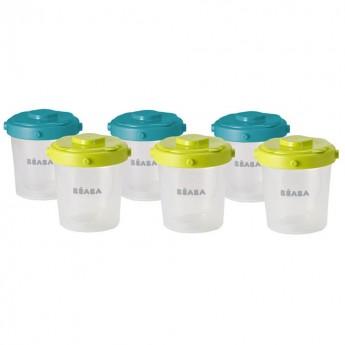 Zestaw słoiczków Clip 6 szt 200 ml, Beaba