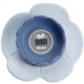 Termometr do kąpieli Lotus grey/blue, Beaba