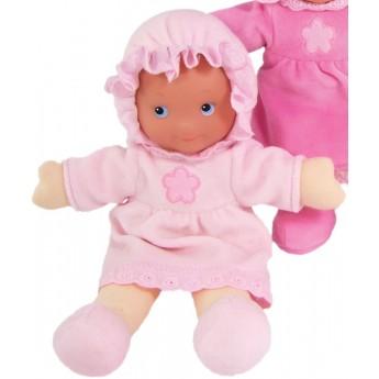 Moja pierwsza lalka bobas jasno-różowa szmacianka, Petitcollin