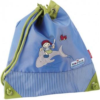 Plecak worek dla dzieci do szkoły Pirat Sammy Samoa, Sigikid