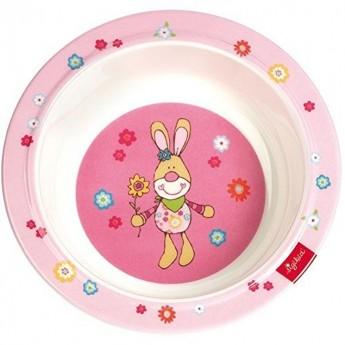 Talerz głęboki Bungee Bunny, Sigikid