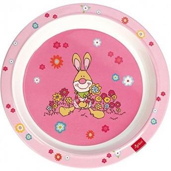 Talerz płaski Bungee Bunny, Sigikid