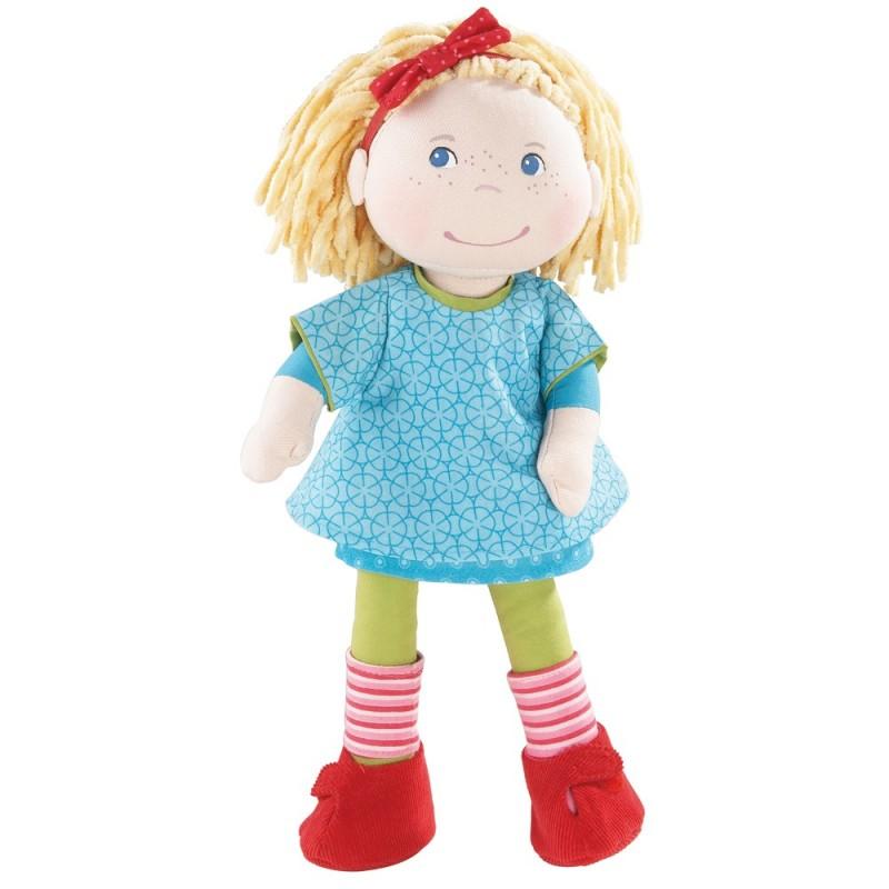 Lalka szmaciana Anna 34cm dla dziewczynek od 18mc, Haba