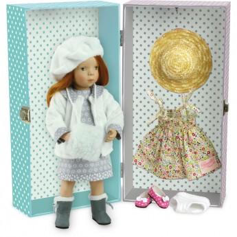 Lalka dla dzieci z akcesoriami 34cm Olga by S. Natterer, Petitcollin