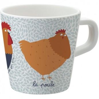 Kubek mug dla dzieci Farma, Petit Jour