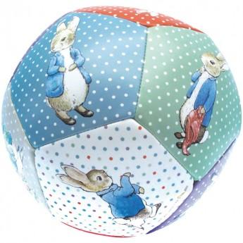 Duża piłka dla niemowląt Królik Piotruś, Petit Jour