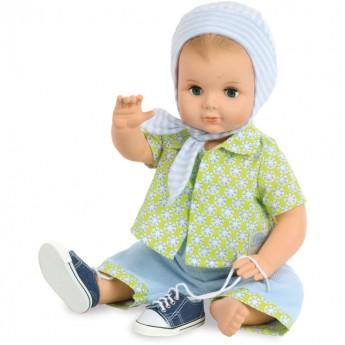 Lalka dla dzieci bobas Łukasz 40cm Vintage, Petitcollin