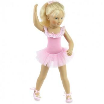 Lalka dla dziewczynek od 3 lat baletnica 44cm Coppelia by S. Natterer, Petitcollin