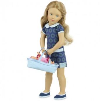 Lalka dla dziewczynek od 3 lat 44cm Milena by S. Natterer, Petitcollin