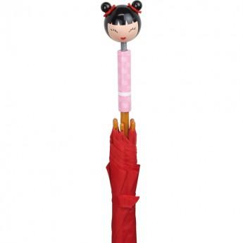 Vilac Parasolka czerwona dla dzieci drewniana Amako
