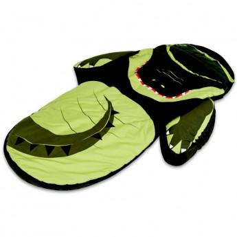 Turystyczne łóżeczko ze śpiworem Krokodyl, Littlelife
