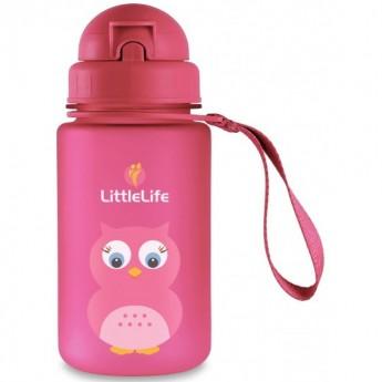 Bidon ze słomką dla dzieci Sowa, LittleLife
