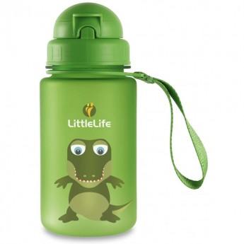 Bidon ze słomką dla dzieci Krokodyl, LittleLife