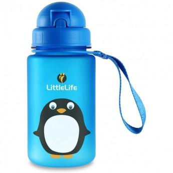 Bidon ze słomką dla dzieci Pingwin, LittleLife