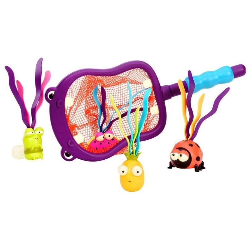 Hipcio Hubba zabawka łowienie rybek w kąpieli, B.Toys