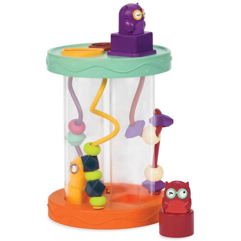 Hooty-Hoo sorter kształtów z dzwiękiem, B.Toys