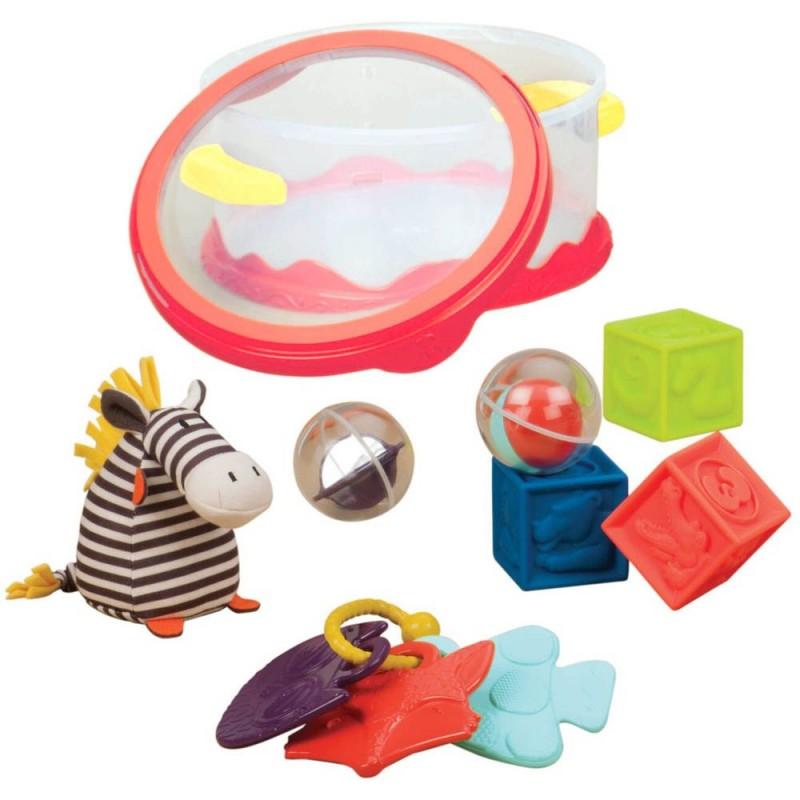 Wee B. Ready zestaw zabawek dla niemowląt, B.Toys
