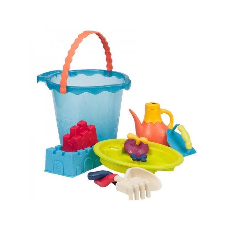 Zestaw plażowy Shore Thing niebieski, B.Toys