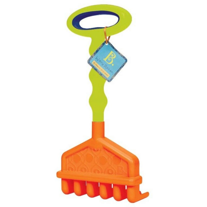 Duże grabie dla dzieci Wavy Raker, B.Toys