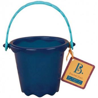 Pocket Pail Wiaderko niebieskie, B.Toys