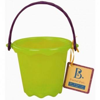 Pocket Pail Wiaderko zielone, B.Toys