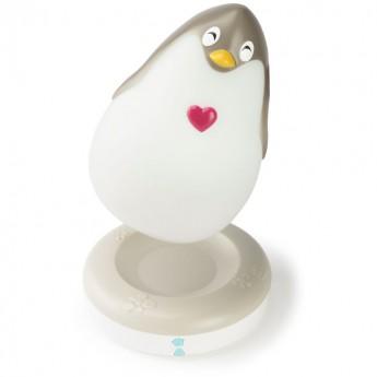 Pozytywka świecąca Lumilove Pingwin od urodzenia, Pabobo