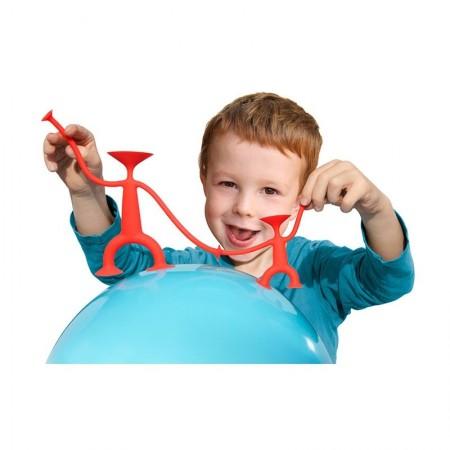 Oogi Junior Red zabawka kreatywna z przyssawkami +3