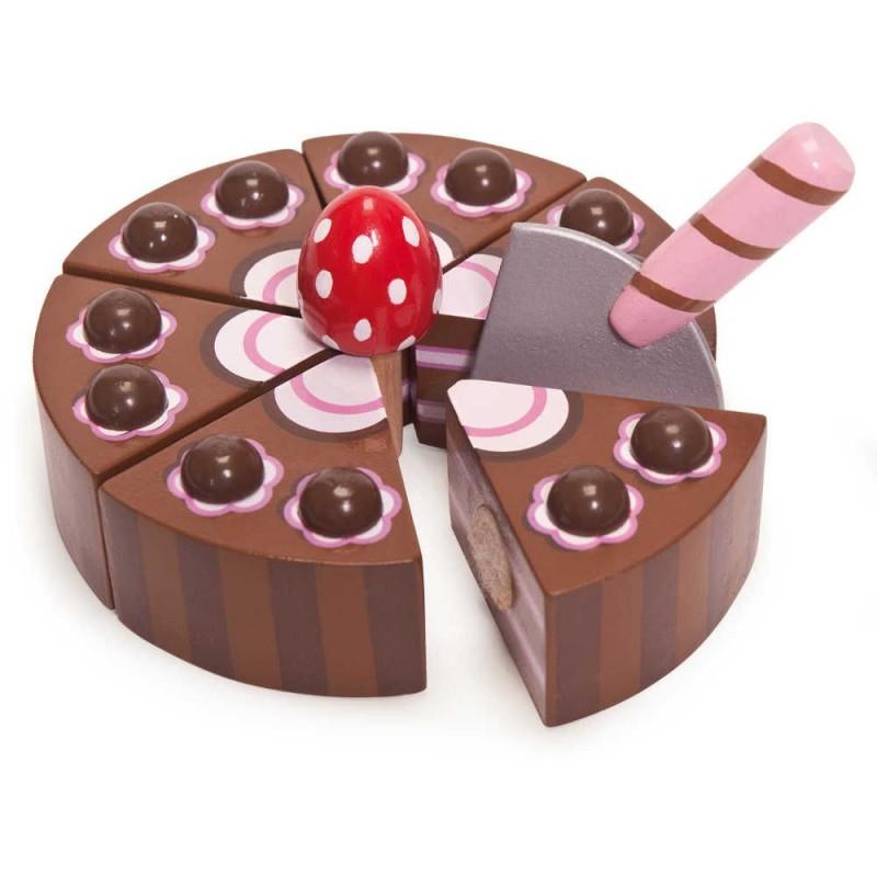 Ciasto czekoladowe drewniane do krojenia, Le Toy Van