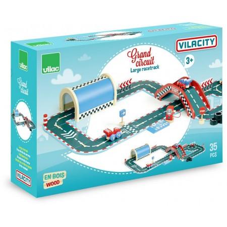 Duży tor Vilacity 36 elementów, Vilac
