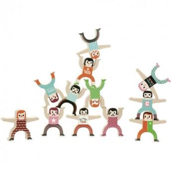 Akrobaci drewniana gra zręcznościowa -Ingela P.Arrhenius, VIlac