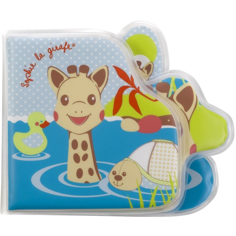 Książeczka do kąpieli, Żyrafa Sophie