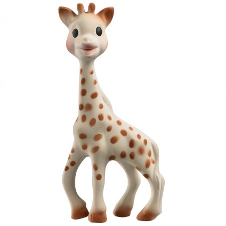 Gryzak Żyrafka w eleganckim pudełku z dyplomem, Żyrafa Sophie