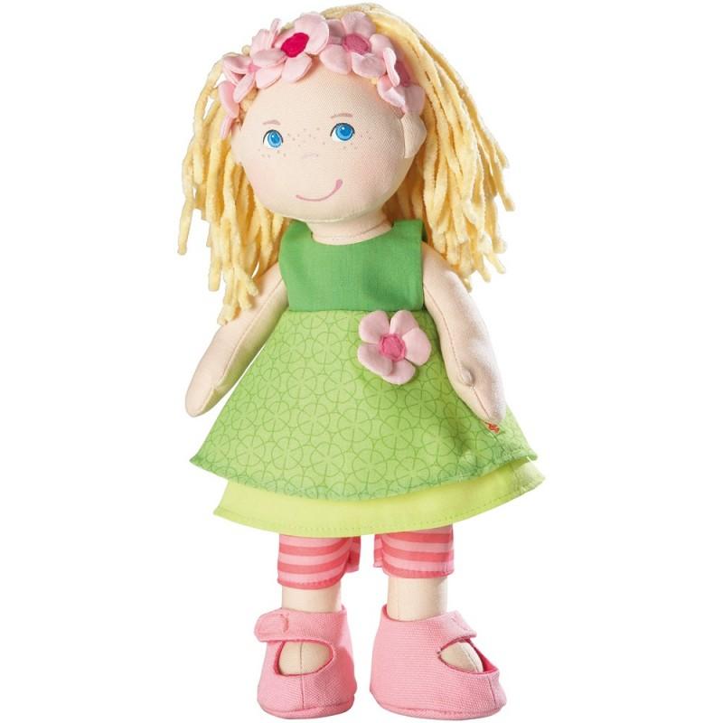 Haba lalka szmaciana Mali 30cm dla dzieci od 18mc