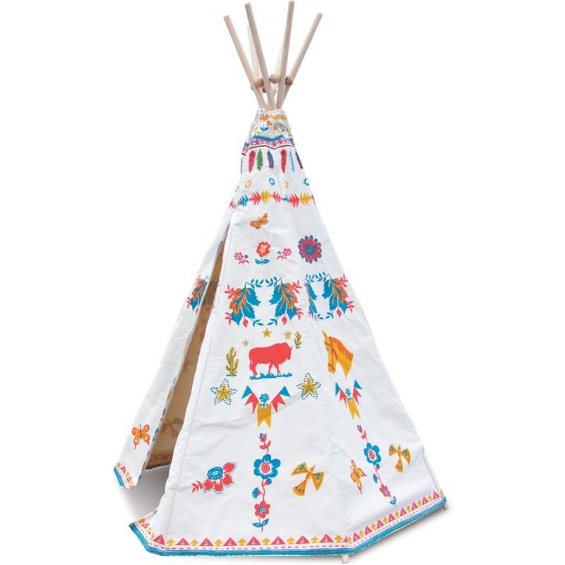 Tipi indiański namiot dla dzieci By Nathalie Lété, Vilac